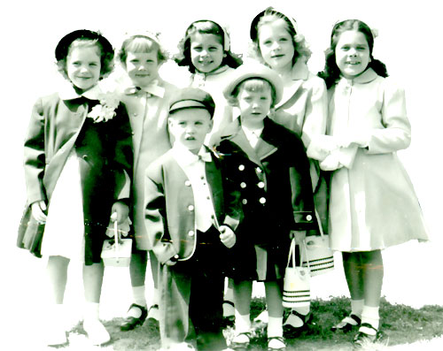 Price cousins, Easter 1954