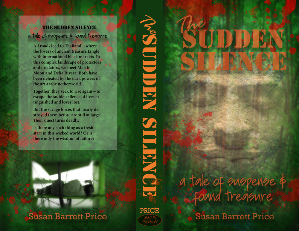 THE SUDDEN SILENCE cover mock-up