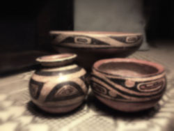 cocle pots from Panama