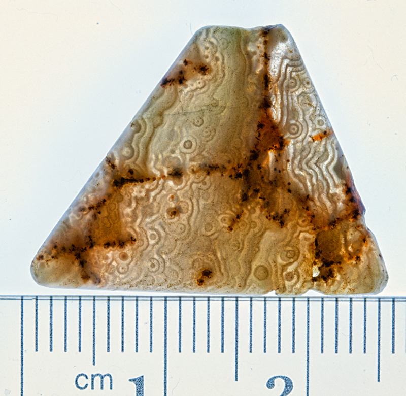 excavated quartz bead Africa