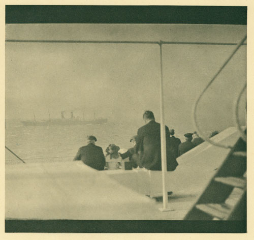 Passing Steamer, Paul Haviland, 1912