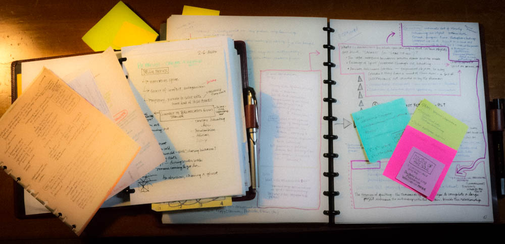 notes and notebooks