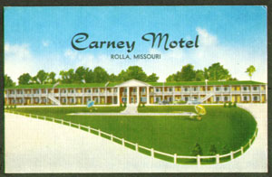 Carney Motel Route 66 Missouri