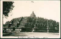 borobudur temple java 1935 photo